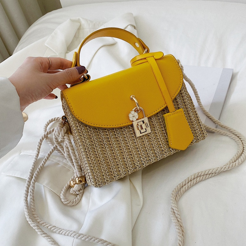 Nuevo bolso de playa de paja de verano, bolso cruzado para mujer, bolso de moda 2020, bolso de mensajero para mujer, bolso de noche para mujer