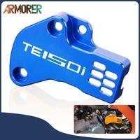 te150i motorcycle sensor guard cover protector cnc aluminum accessories for te150i te 150i 2020 2021