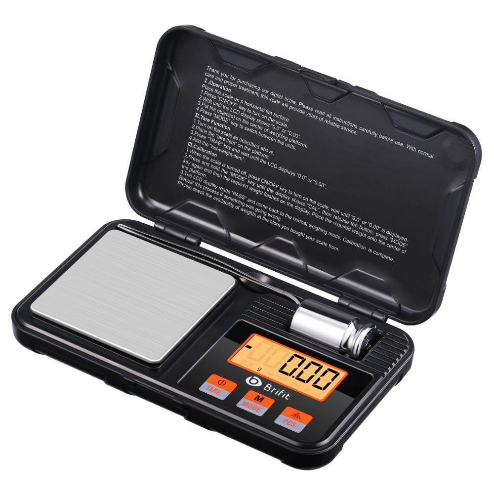 200gx 0,01g Schmuck Mini Edelstahl Elektronische Waage Digital Pocket Skala Gold Gramm Balance Waage Tragbare Tasche Sc