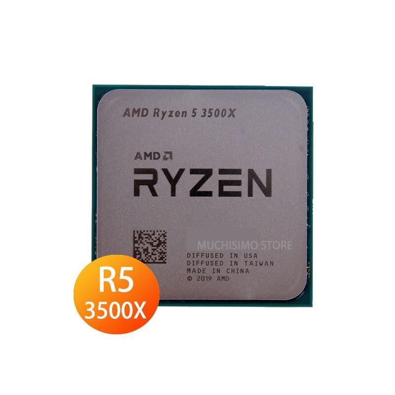 Socket AM4 Asus PRIME X570-PRO Motherboard + CPU R5 3500X Motherboard Set Six Cores 128GB 3.6GHz Ryzen 5 3500X X570 Placa-Mãe
