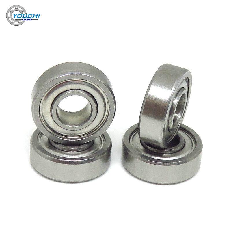 10 قطعة SR4 ZZ EE 6.35x15.875x4.98 ملليمتر الحلقة الداخلية الموسعة الفولاذ المقاوم للصدأ تحمل R4 Z 0.25x0.625x0.196 بوصة مصغرة محامل