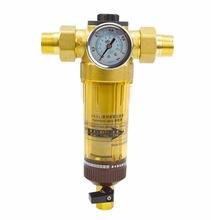 Prefiltro de agua de cobre de 1 pulgada, 1/2 pulgadas, 3/4 pulgadas, tuberías de filtro de agua para el hogar, purificador de agua Central, descalcificación