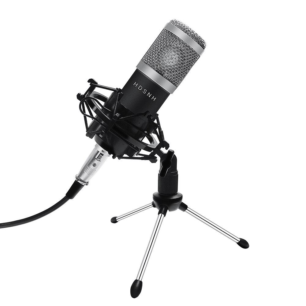 BM-800 micrófono de condensador profesional Kit de BM800 Karaoke micrófono de condensador de estudio Mikrofon Bm 800 Mic para Radio Baodcasting