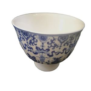 Chinese Old Porcelain Bowl Blue And White Porcelain Bowl