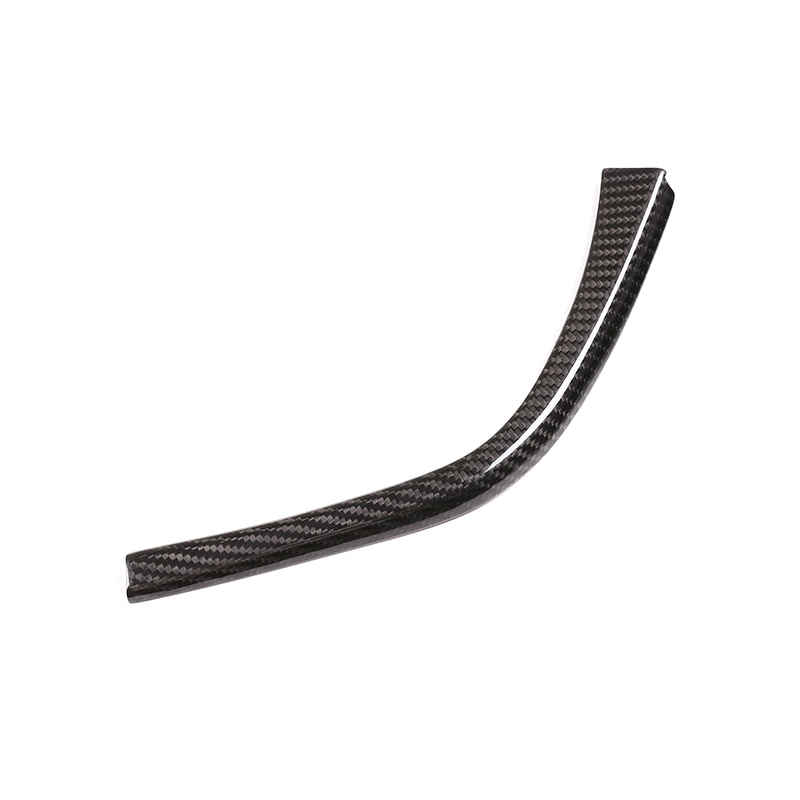Real Carbon Fiber For BMW F80 F82 F83 M3 M4 2014-2018 LHD Accessories Car Gear Shift L Shape Strips Trim enlarge