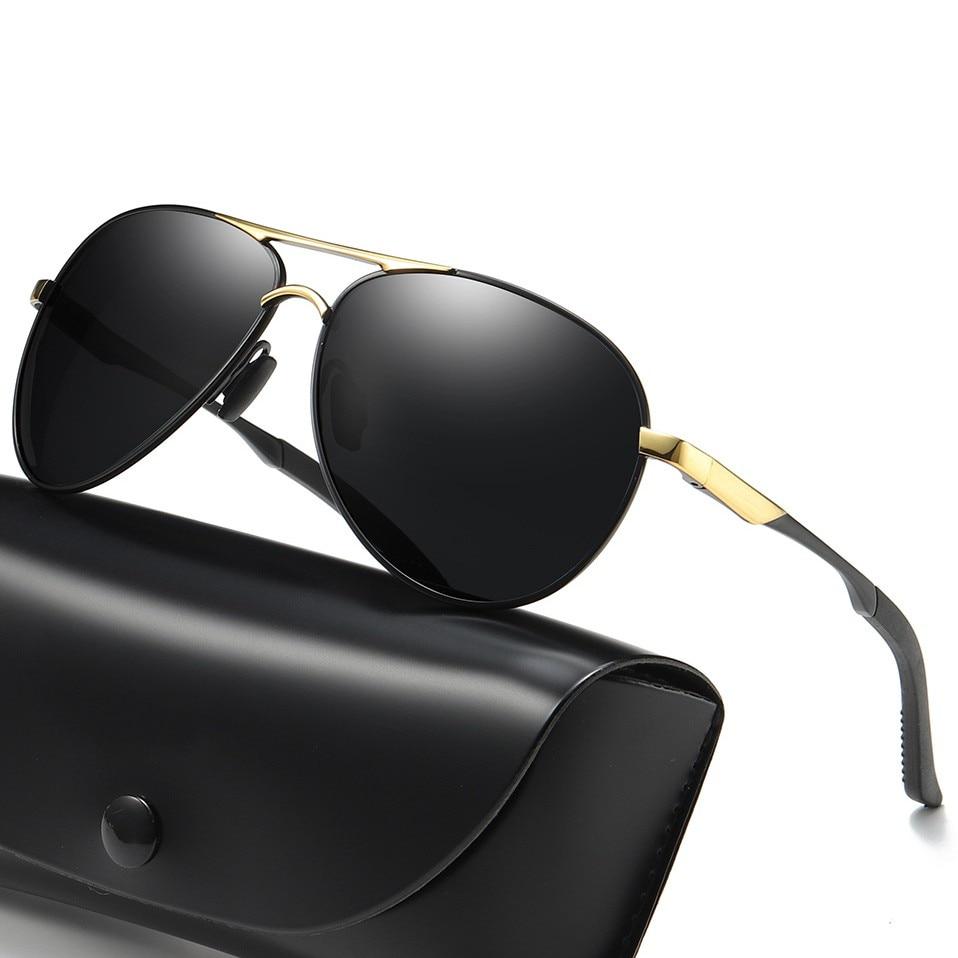Men Polarized Sunglasses Fashion Rays Aviation Brand Designer Driving Sun Glasses for Men Outdoor Gl