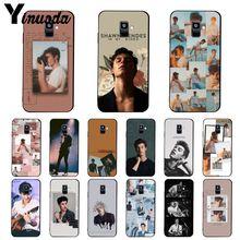 Yinuoda Pop singer Shawn Mendes Magcon 98 Phone Case For Samsung Galaxy A7 A50 A70 A20 A30 A40 A8 A6Plus A8Plus A9 2018