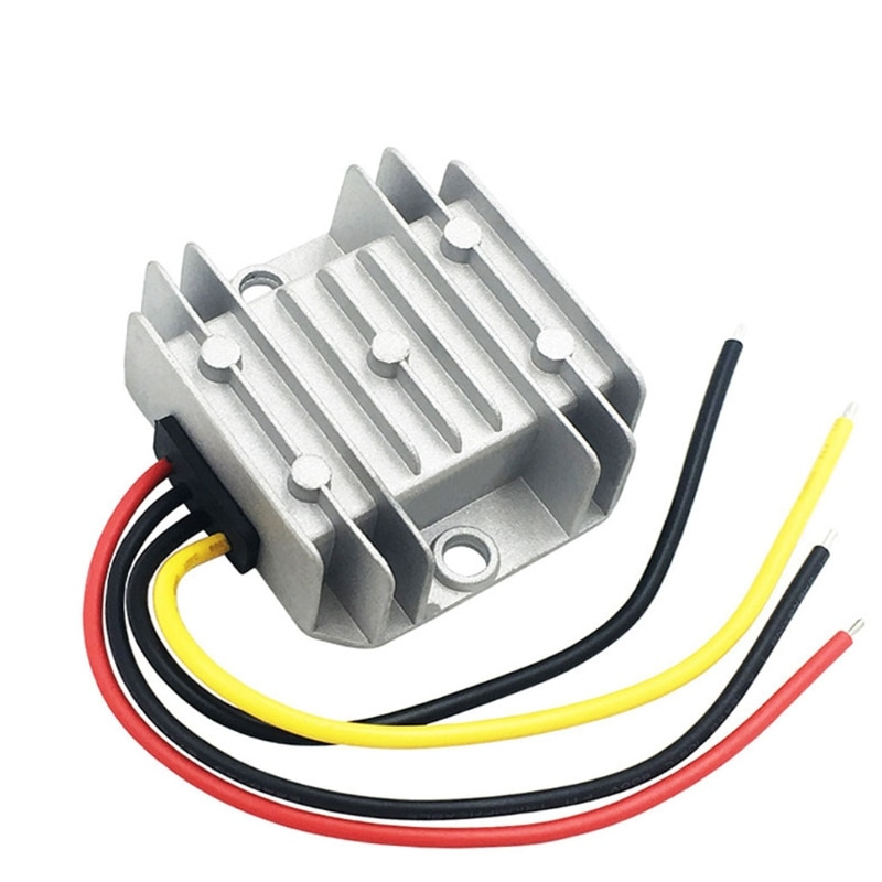 Car 24 V to12 V 5 a DC Voltage Regulator Automobile Refitting Power Module