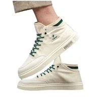 canvas shoes mens high top new fashion summer breathable mens shoes trend korean version of wild white shoes casual shoes cool