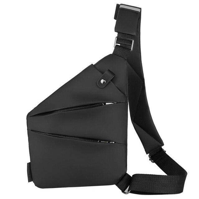 Multifunctional Concealed Tactical Storage Gun Bag Holster Mens Left Right Coating Shoulder Bag Anti Theft Bag Chest Bag Hunting Aliexpress