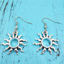 New Sun Charm Creative Earrings,Vintage Fashion Jewelry Women Christmas Birthday Gifts Accessories P