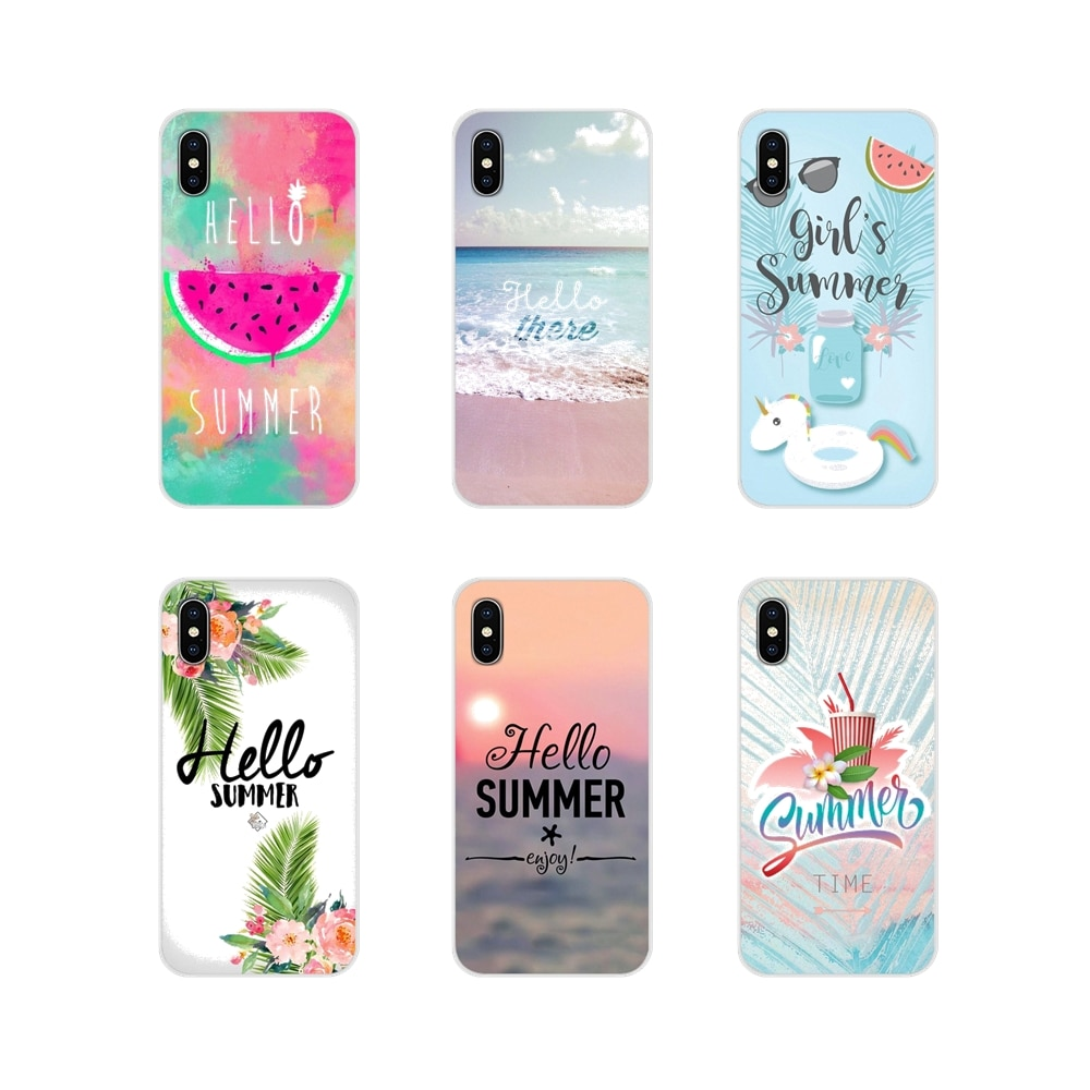 For Huawei Honor 4C 5C 6X 7 7A 7C 8 9 10 8C 8S 8X 9X 10I 20 Lite Pro Summer holiday travel girl Accessories Phone Shell Covers