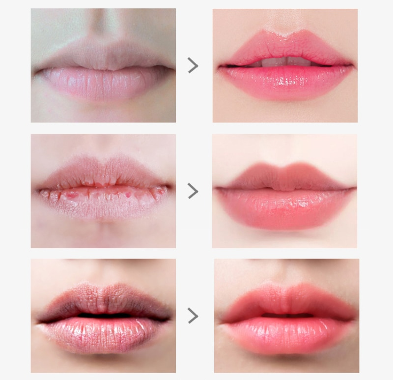 High Moisturizing Repair Lip Mask Warm Color Changing Lip Balm Fade Lip Wrinkles Nourishing Lipstick Sexy Lips Makeup TSLM2