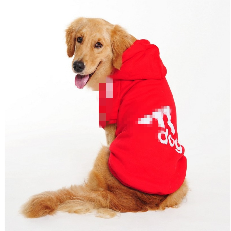 Dog Hoodie Pet Dog Clothes for Big Dogs Pets Clothing Warm Dog Coat Jacket Puppy Pet Clothing for Dogs Sweater Ropa Perro S-9XL