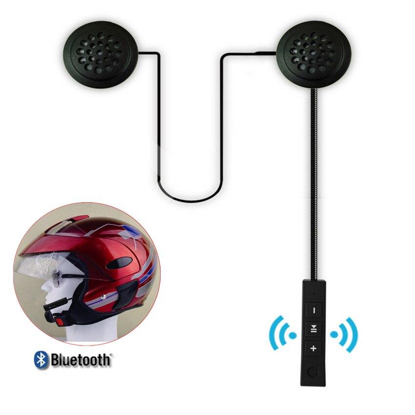 Bluetooth 4.1EDR Anti-interferencia casco de la motocicleta auricular montar manos libres auriculares inalámbrico Motor bicicleta