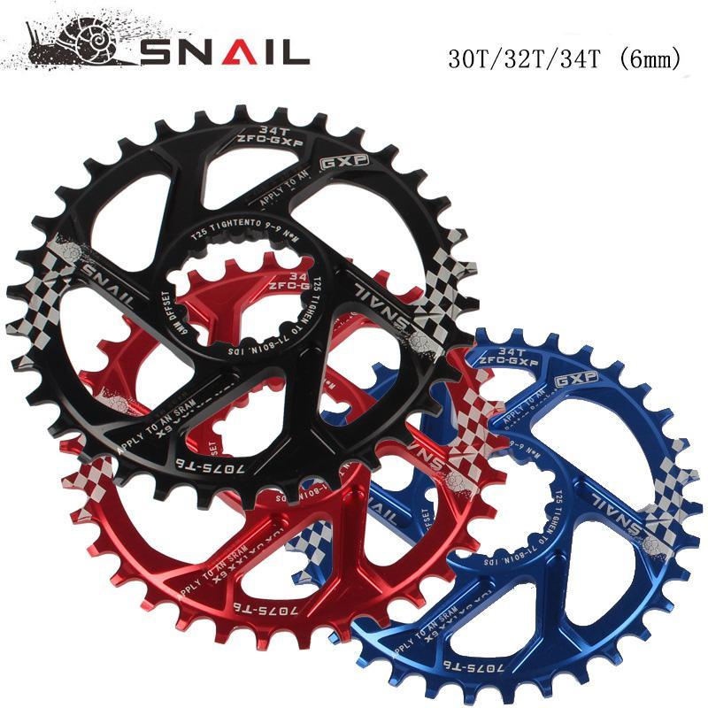 Rueda dentada negativa positiva para bicicleta 30T 32T 34T para sram X9 XO X01 XX1 cerradura Compatible GXP 8 9 10 11 Cadena de velocidad Rng