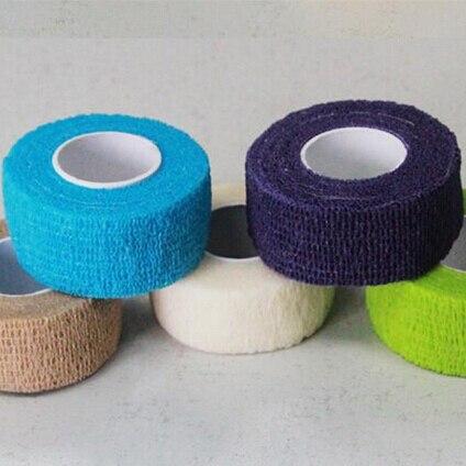 1 rolle Nail art Tipps Schutz Band Top Grade Flex Wrap Finger Bandage Streifen Handgemachte Salon DIY Maniküre Werkzeuge Farbe zufällig