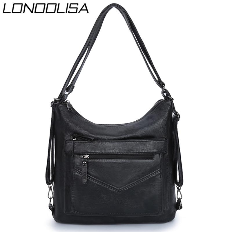 Multifunction Ladies Hand Bags for Women 2019 Luxury Handbags Women Bags Designer Handbags Back Pack Lady Crossbody Shoulder Sac