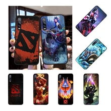 NBDRUICAI Shadow Fiend Dota 2 Soft Silicone Black Phone Case for Huawei Honor 20 10 9 8 8x 8c 9x 7c 7a  Lite view