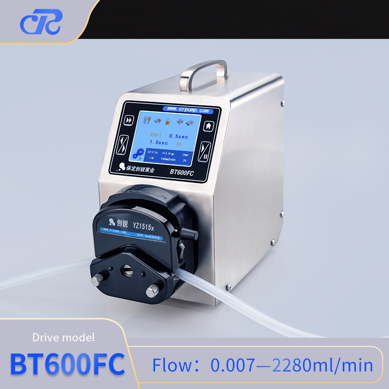 Chuangrui Stainless Peristaltic Micro Pump Small Filling Machine enlarge