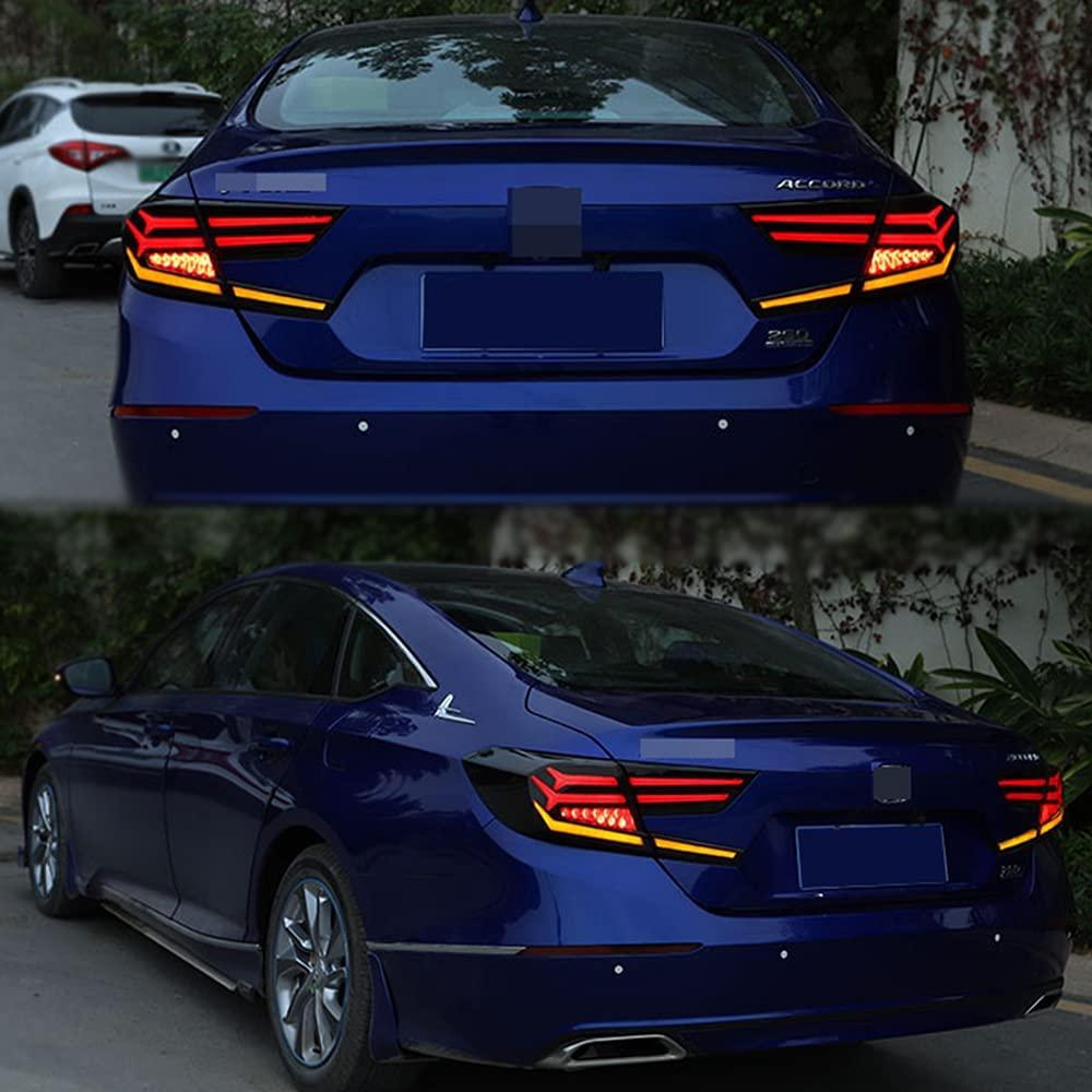 مصابيح LED للسيارة هوندا أكورد 2018 2019 2020 الخلفية الذيل مصباح تبدو وكأنها لامبورغيني اكسسوارات السيارات