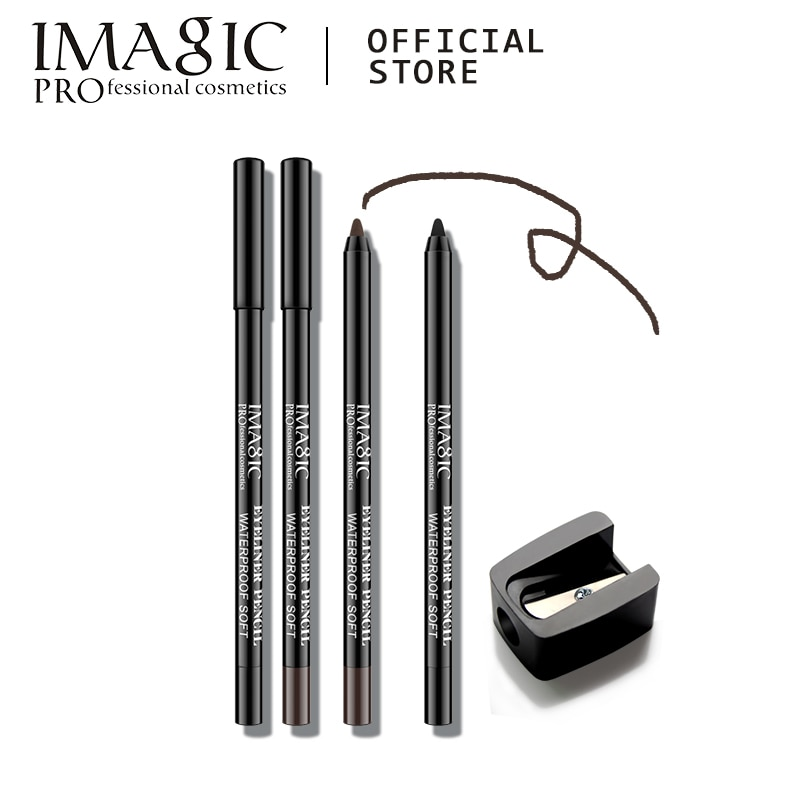 IMAGIC 1PC NEW Beauty Fashion Brown Lasting Waterproof Eyeliner Eyeliner Pen Pencil Makeup Beauty Tools Free Post