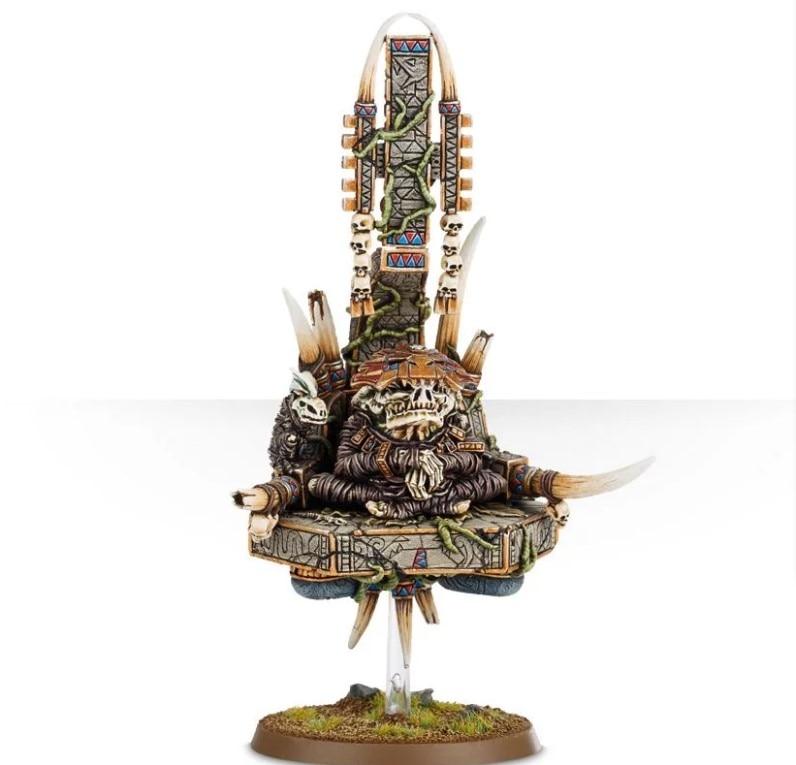Seraphon Lord Kroak (sin base voladora + soporte)