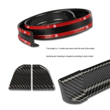1.5M Auto-Styling 5D Koolstofvezel Spoilers Diy Refit Spoiler Voor Citroen Picasso C1 C2 C3 C4 C4L c5 DS3 DS4 DS5 DS6 Elysee