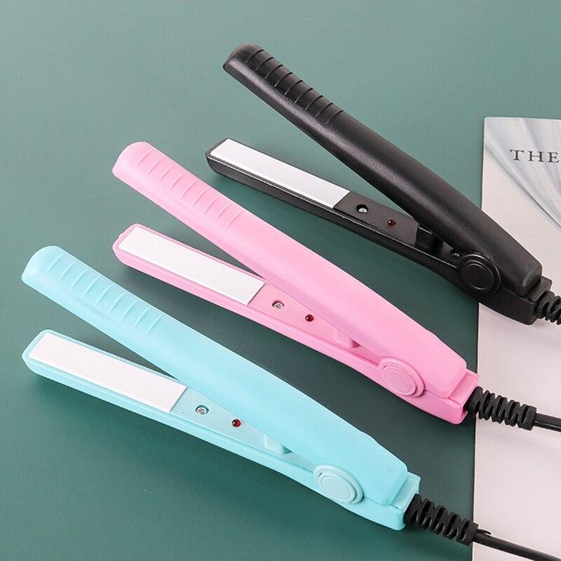 2020 New Mini Hair Straightener Curling hair clipper Hair Crimper Curling Iron curly hair iron Hair