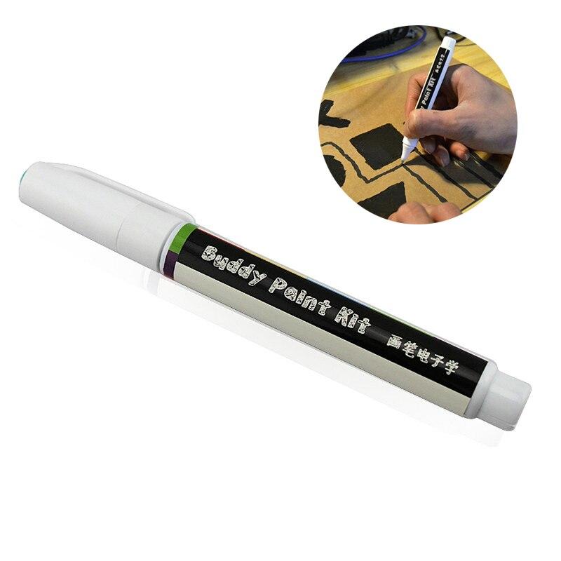 Bolígrafo de tinta conductora, circuito electrónico, dibujo instantáneo, bolígrafo mágico, fabricante DIY, estudiante, niños, educación, regalos mágicos