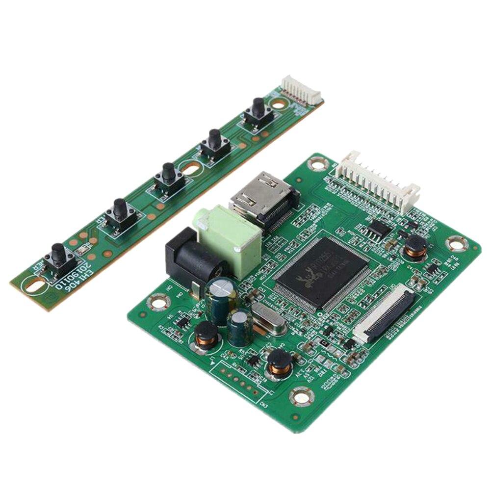 Kit de placa de controlador LCD de recambio para ordenador portátil de entrada de Audio 30pin HD Monitor Panel accesorios EDP LED HDMI VGA de módulo