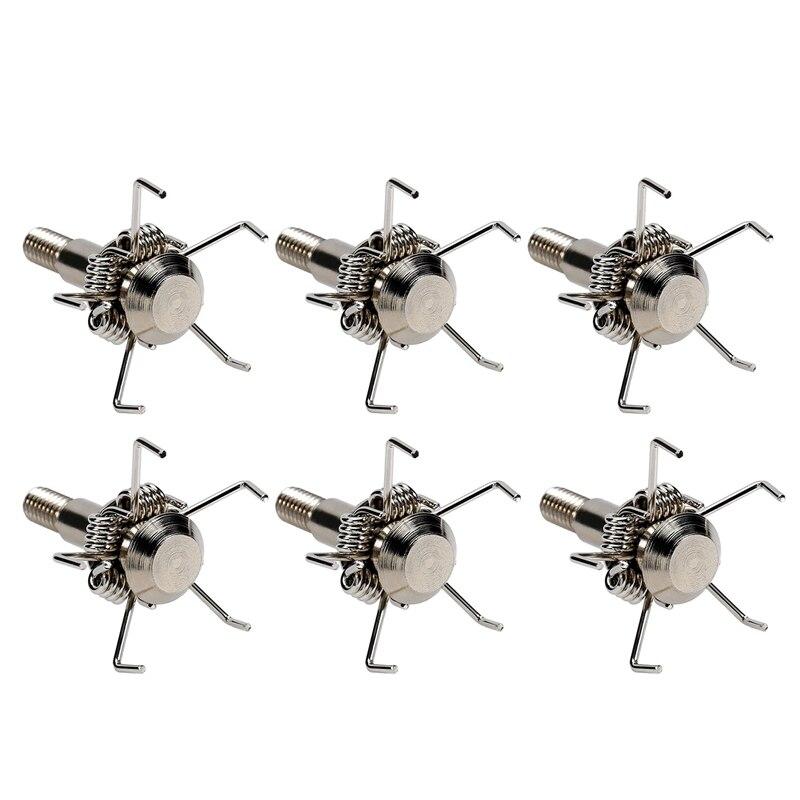 New 6Pcs Broadheads 100 Grain Archery Hunting Small Game Sharp Judo Hammer Crossbow Compound Bow Arrows Tips
