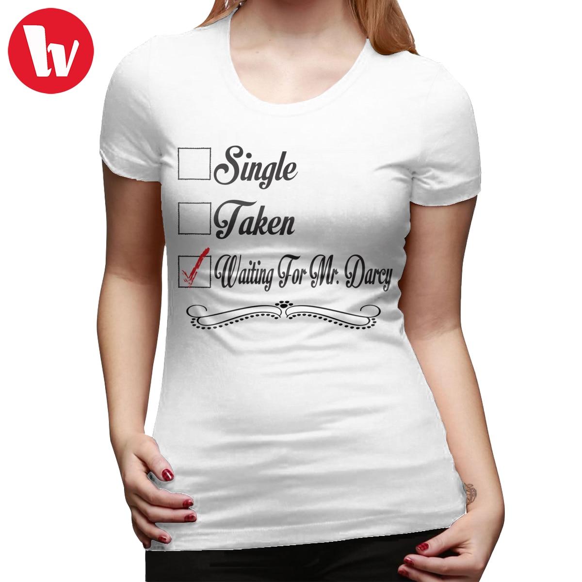 Colin Firth футболка с гордостью и предвзятостью Джейн Остин взят в ожидании MR. DARCY футболка Серебряная простая женская футболка