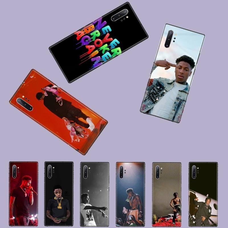 Nba youngboy Nunca se rompe de nuevo Bling lindo teléfono caso para Samsung Galaxy S8 S9 S10 Plus Lite S10E Note 3 4 5 6 7 8 9 10 Pro