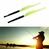 2pcs 18cm 14g fishing tackle hook remover disgorger knot picker tyer tier fly fishing line tool fish unhook extractor detacher