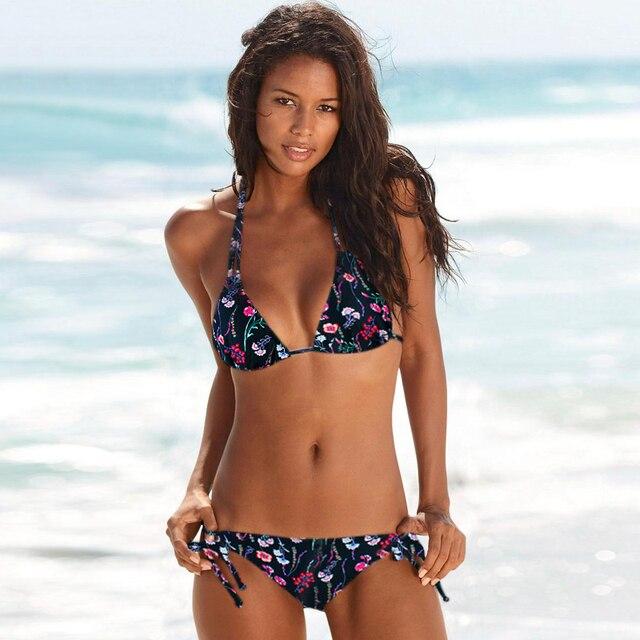 Swimwear Woman Swimsuit Sexy Bikini 2021 New Push Up Bikini Set Bathing Suit Women Print Floral Beachwear Biquini Two Piece Suit 6