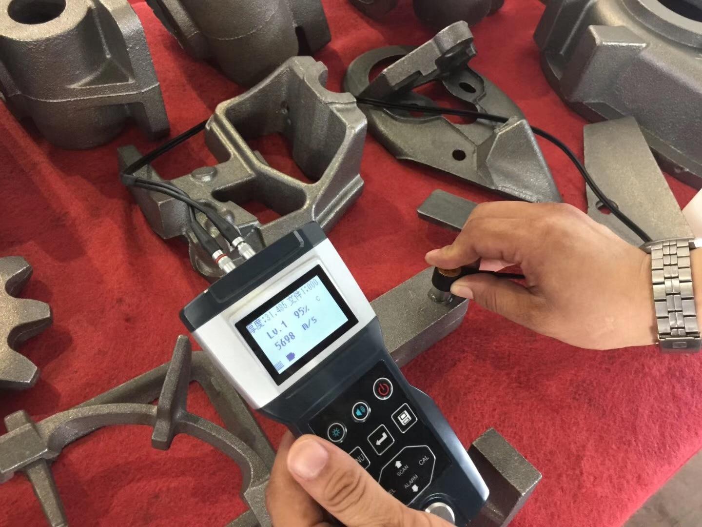 HUATEC  Memory Ultrasonic Velocity Meter Ultrasonic Thickness Measurement Equipment TG-1000 enlarge