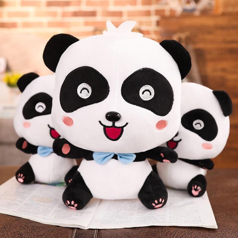 20/35/45cm venda quente bonito panda brinquedos de pelúcia hobbies animais dos desenhos animados brinquedo de pelúcia bonecas crianças meninos bebê aniversário presente de natal