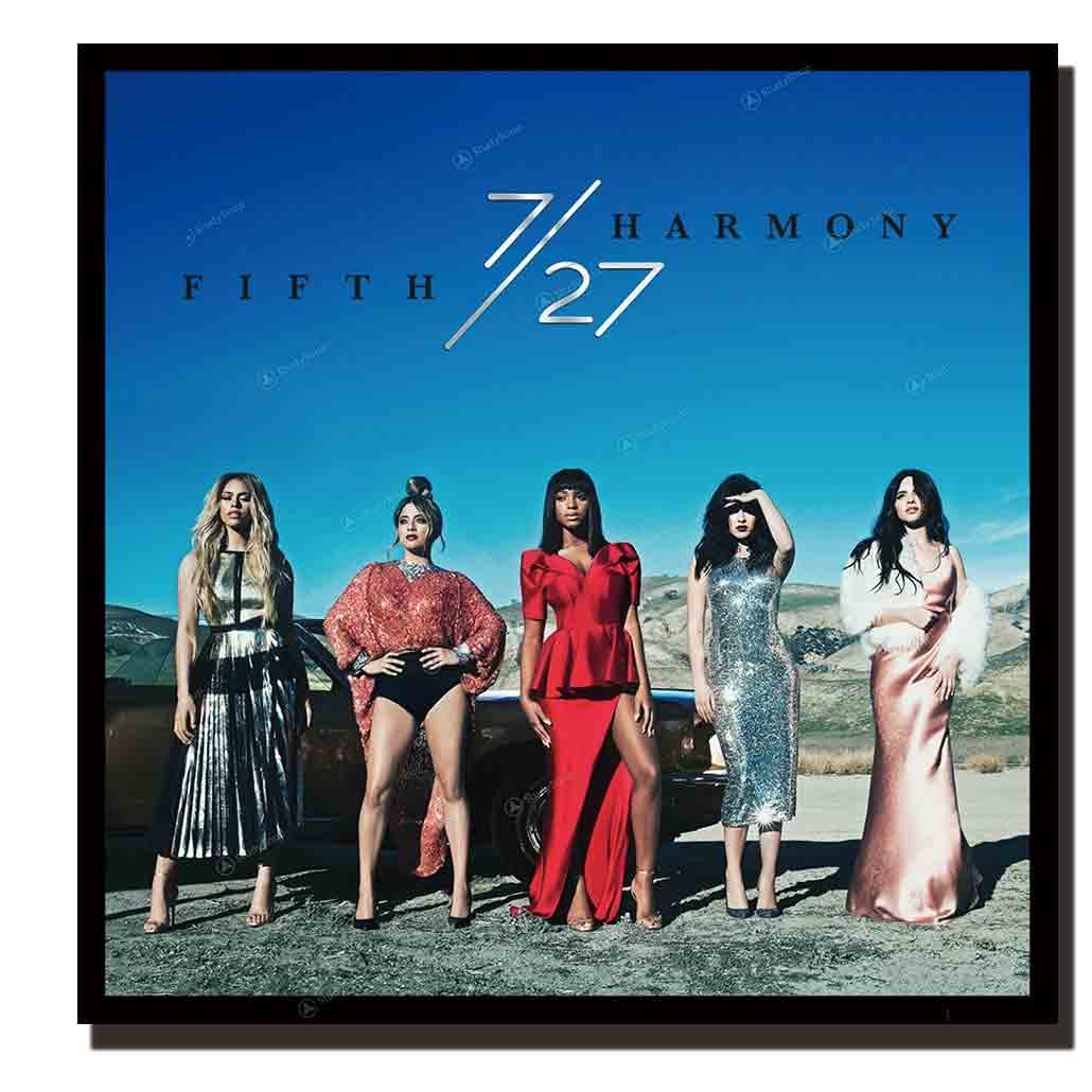 Z233 fifth harmony girl star actress music Album arte cartel de tela de seda pintura pared cuadro decoración Room12x12 24x24in