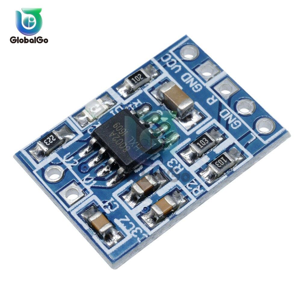 HXJ8002 Mini Audio Power Amplifier Board Mono Channel Voice Low Noise Amplifiers Module 2.0-5.5V