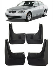 Garde-boue avant arrière moulé de voiture   2006-2010 BMW série 5 E60 garde-boue bavettes de voiture 4 pièces
