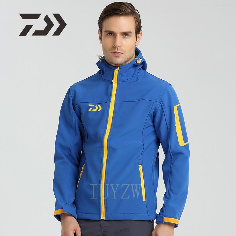 Одежда Daiwa для рыбалки Мужская спортивная одежда для рыбалки на открытом воздухе походная водонепроницаемая куртка одежда для рыбалки дыша...