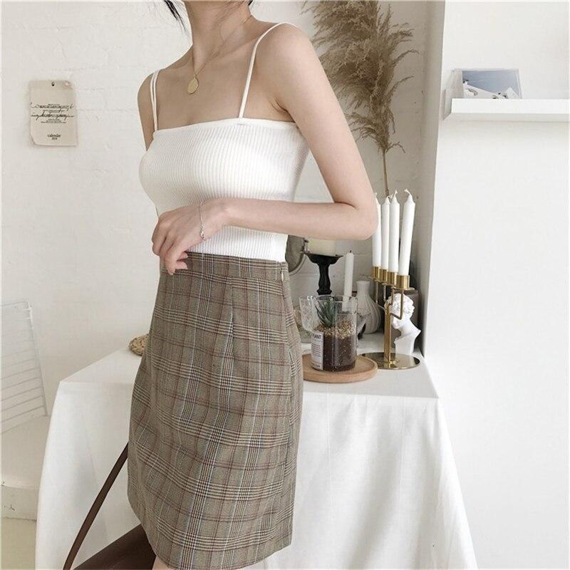 H7c631307221440bfa7dd17e225e7ac7fj - Summer Korean Sleeveless Basic Solid Camisole
