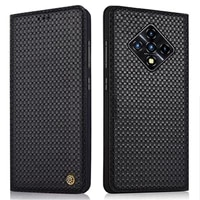 genuine leather flip case for infinix zero 8 hot 10 lite cover magnetic phone fundas