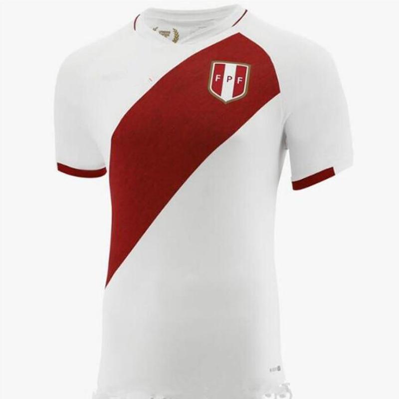 Camiseta De fútbol De Perú, Maillot De pie, 2020, 2021