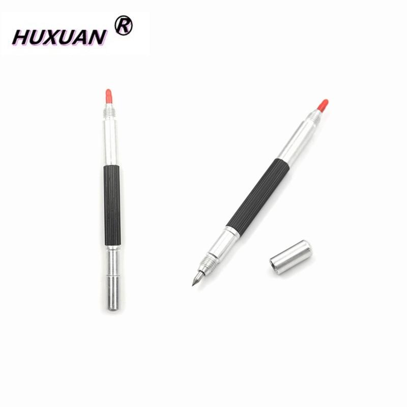 1pcs نوک فولاد تنگستن نوک 145mm نوک فولادی تنگستن قلم کلیپ قلم سرامیک شیشه پوسته فلز ابزار مارک ابزار