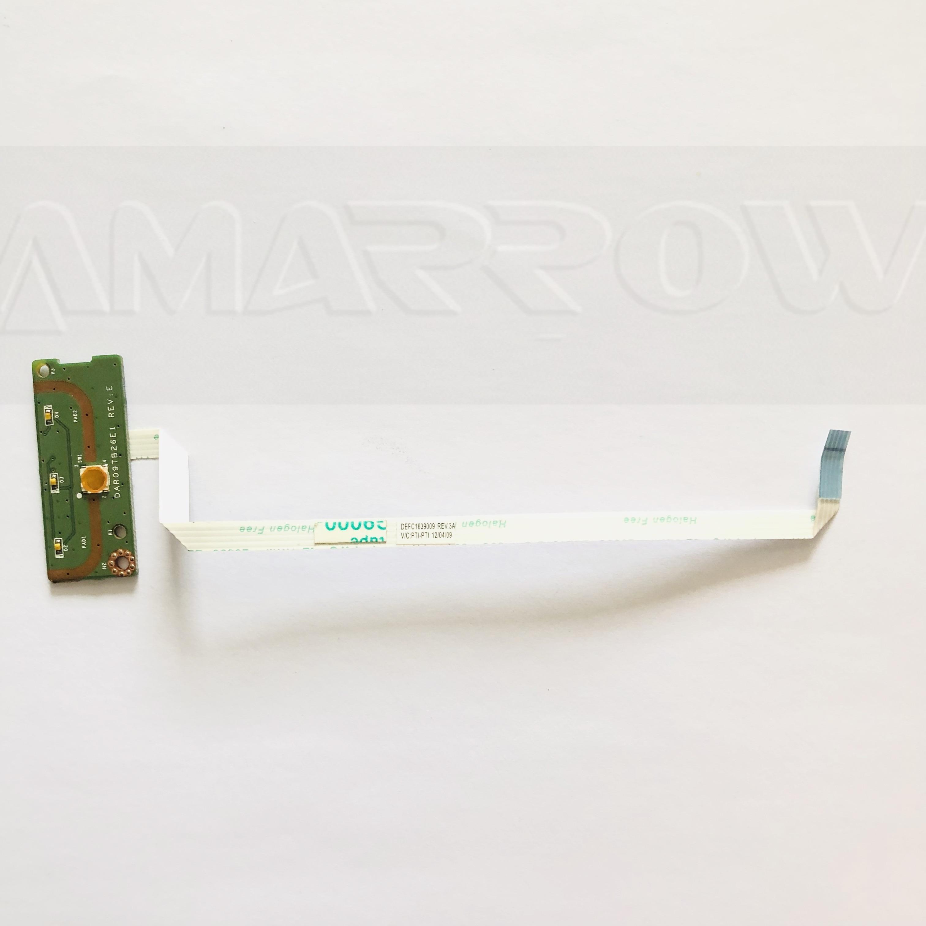 Оригинал для Asus 5720 7720 Кнопка питания плата коммутатора 3NR09PB0010 DAR09TB26E1