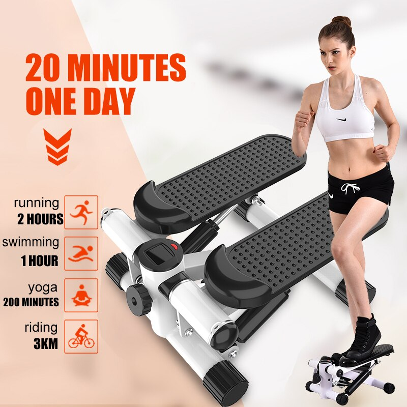 Multi-functional Mini Steppers Running Machines Sport Treadmills LCD Fitness Equipment Home Lose Wei