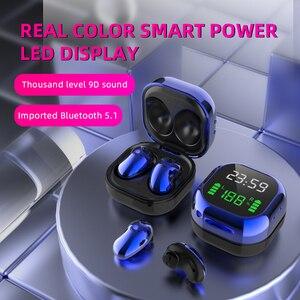 S6 Plus True Wireless Earphone HiFi Stereo 8D V5.1 Bluetooth Hear phone With Microphone Handsfree Earbud pk Buds R180