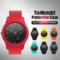 sikai case for ticwatch 2 hard pc shell screen protector cover for ticwatch 2 watch smart watch accessories